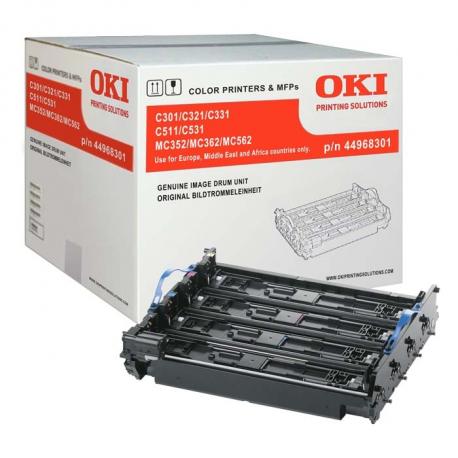 OKI C301/C511/MC352/MC362 TAMBOR DE IMAGEN ORIGINAL (44968301) (DRUM)