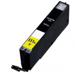 CANON CLI551XL AMARILLO CARTUCHO DE TINTA COMPATIBLE (6446B001)