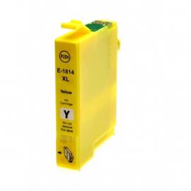 EPSON T1814/T1804 (18XL) AMARILLO CARTUCHO DE TINTA COMPATIBLE
