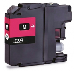BROTHER LC221/LC223 MAGENTA CARTUCHO DE TINTA COMPATIBLE