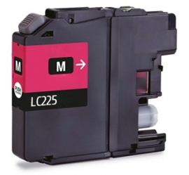 BROTHER LC225XL MAGENTA CARTUCHO DE TINTA COMPATIBLE