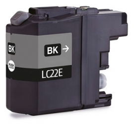 BROTHER LC22E NEGRO CARTUCHO DE TINTA COMPATIBLE (LC-22EBK)