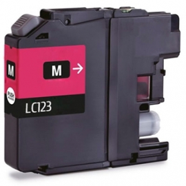 BROTHER LC121XL/LC123XL MAGENTA CARTUCHO DE TINTA COMPATIBLE
