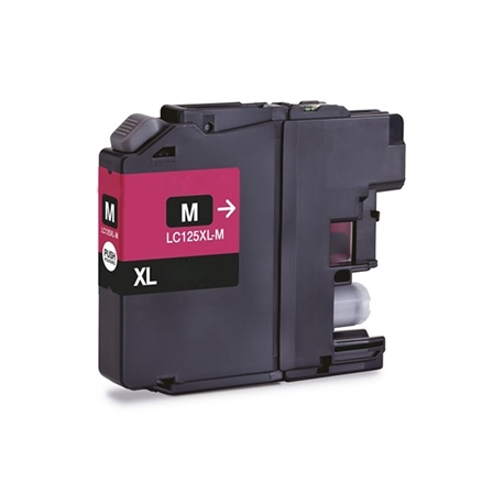 BROTHER LC125XL MAGENTA CARTUCHO DE TINTA COMPATIBLE PREMIUM