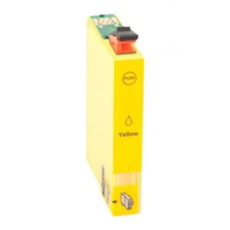 EPSON T0804 AMARILLO CARTUCHO DE TINTA COMPATIBLE (C13T08044010)