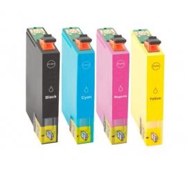 PACK 4 EPSON T0611/T0612/T0613/T0614 CMYK CARTUCHOS DE TINTA COMPATIBLES
