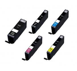 PACK CANON PGI550XL/CLI551XL CARTUCHOS DE TINTA COMPATIBLES