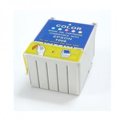EPSON T008 5 COLORES CARTUCHO DE TINTA COMPATIBLE (C13T00840110)