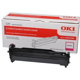 OKI C3300/C3400/C3450/C3600 MAGENTA TAMBOR DE IMAGEN ORIGINAL (43460206)