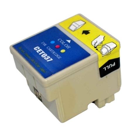 EPSON T037 TRICOLOR CARTUCHO DE TINTA COMPATIBLE (C13T03704010)