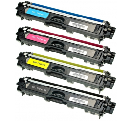 PACK X 4 BROTHER TN241/TN245/TN242/TN246 CMYK CARTUCHOS DE TONER COMPATIBLE