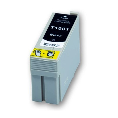 EPSON T1001 NEGRO CARTUCHO DE TINTA COMPATIBLE (C13T10014010)