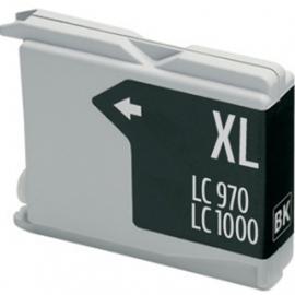 BROTHER LC1000XL/LC970XL NEGRO CARTUCHO DE TINTA COMPATIBLE