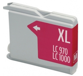 BROTHER LC1000XL/LC970XL MAGENTA CARTUCHO DE TINTA COMPATIBLE