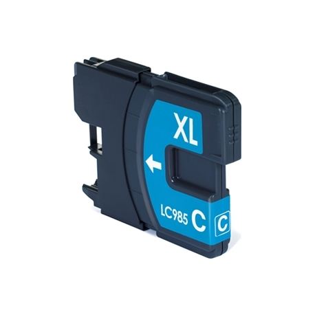 BROTHER LC985XL CYAN CARTUCHO DE TINTA COMPATIBLE