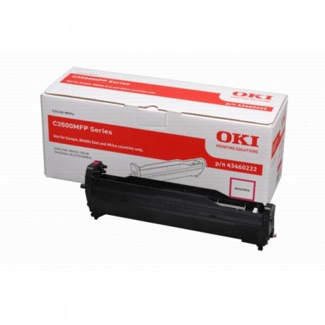 OKI C3520/C3530/MC350/MC360 MAGENTA TAMBOR DE IMAGEN ORIGINAL (43460222)