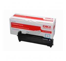 OKI C3520/C3530/MC350/MC360 CYAN TAMBOR DE IMAGEN ORIGINAL (43460223)