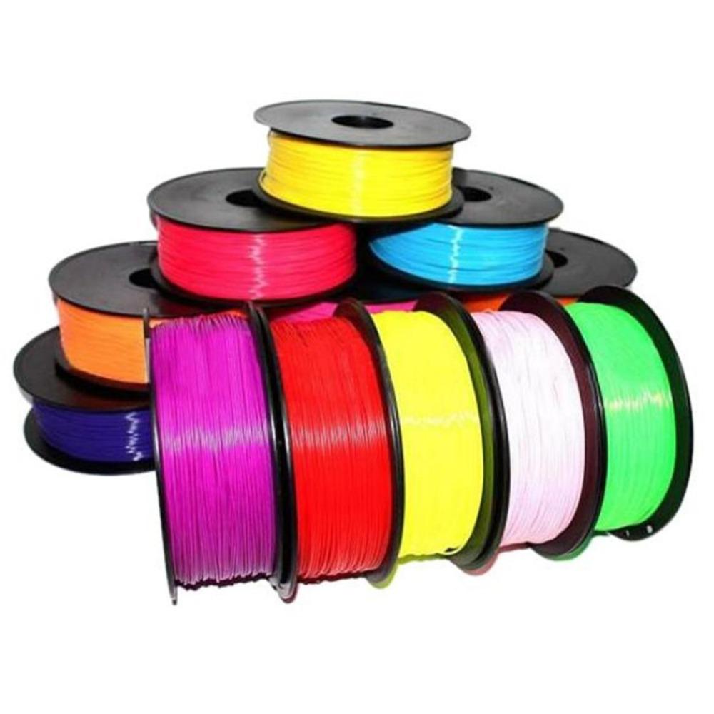 Bobinas de filamento ABS y PLA para impresoras 3D