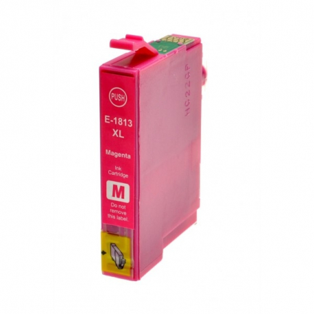 EPSON T1813/T1803 (18XL) MAGENTA CARTUCHO DE TINTA COMPATIBLE (C13T18134010)
