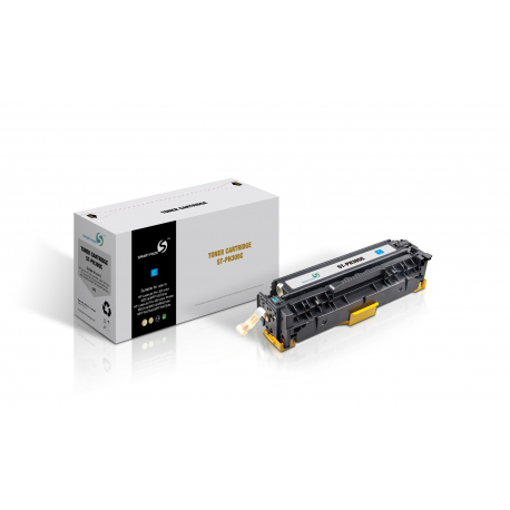 SMART MATE HP CE411A CYAN CARTUCHO DE TONER COMPATIBLE Nº305A