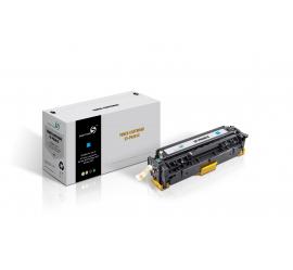 SMART MATE HP CF381A CYAN CARTUCHO DE TONER COMPATIBLE Nº312A