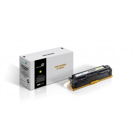 SMART MATE HP CB542A AMARILLO CARTUCHO DE TONER COMPATIBLE Nº125A