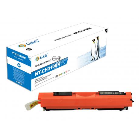 G&G HP CE310A NEGRO CARTUCHO DE TONER COMPATIBLE Nº126A