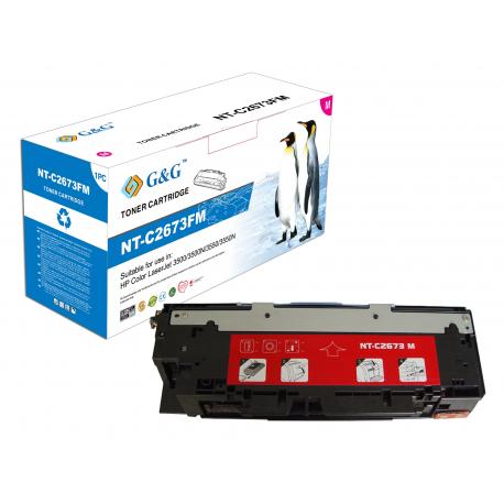 G&G HP Q2673A MAGENTA CARTUCHO DE TONER COMPATIBLE Nº309A