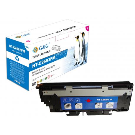 G&G HP Q2683A MAGENTA CARTUCHO DE TONER COMPATIBLE Nº311A