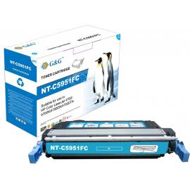 G&G HP Q5951A CYAN CARTUCHO DE TONER COMPATIBLE
