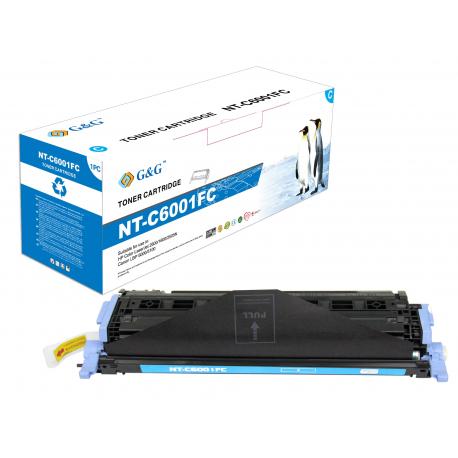 G&G HP Q6001A CYAN CARTUCHO DE TONER COMPATIBLE Nº 124A