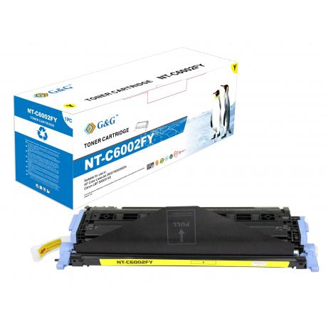 G&G HP Q6002A AMARILLO CARTUCHO DE TONER COMPATIBLE Nº 124A