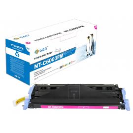 G&G HP Q6003A MAGENTA CARTUCHO DE TONER COMPATIBLE Nº 124A