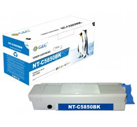 G&G OKI C5850/C5950/MC560 NEGRO CARTUCHO DE TONER COMPATIBLE 43865724