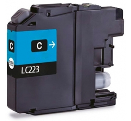 BROTHER LC223 CYAN CARTUCHO DE TINTA COMPATIBLE
