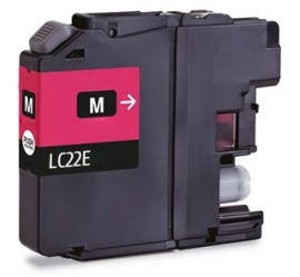 BROTHER LC22E MAGENTA CARTUCHO DE TINTA COMPATIBLE (LC-22EM)