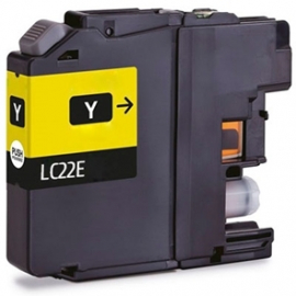 BROTHER LC22E AMARILLO CARTUCHO DE TINTA COMPATIBLE (LC-22EY)