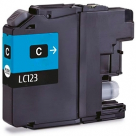 BROTHER LC121XL/LC123XL CYAN CARTUCHO DE TINTA COMPATIBLE