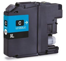 BROTHER LC125XL CYAN CARTUCHO DE TINTA COMPATIBLE