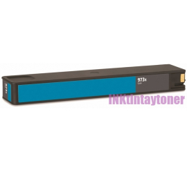 HP 973X V7 CYAN CARTUCHO DE TINTA PIGMENTADA COMPATIBLE (F6T81AE)