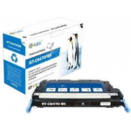 G&G HP Q6470A NEGRO CARTUCHO DE TONER COMPATIBLE Nº501A