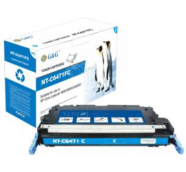 G&G HP Q6471A CYAN CARTUCHO DE TONER COMPATIBLE Nº502A