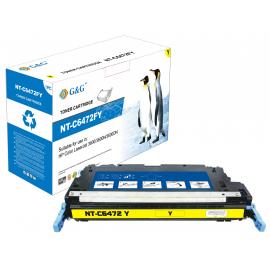 G&G HP Q6472A AMARILLO CARTUCHO DE TONER COMPATIBLE Nº502A