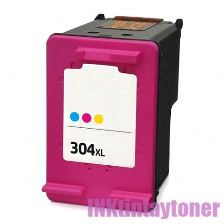Tinta Nº304xl V3 Tricolor Compatible Hp Inktintaytoner