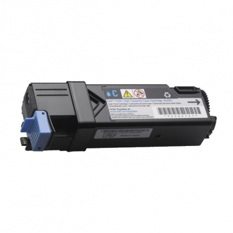 DELL 2150/2155 CYAN CARTUCHO DE TONER COMPATIBLE (593-11041)