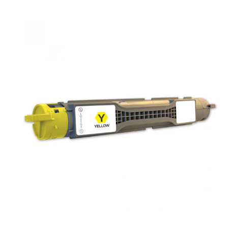 DELL 5100 AMARILLO CARTUCHO DE TONER COMPATIBLE (593-10053)