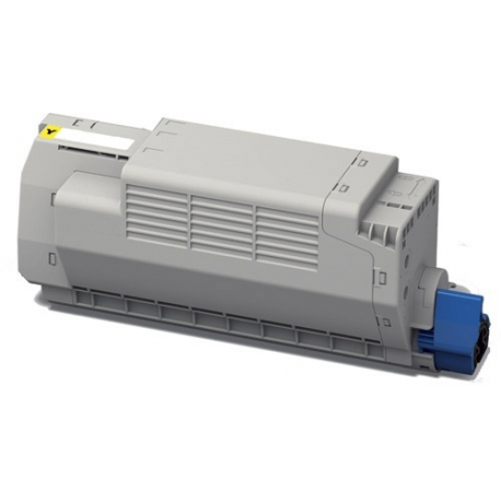 OKI MC760/MC770/MC780 AMARILLO CARTUCHO DE TONER COMPATIBLE (45396301)