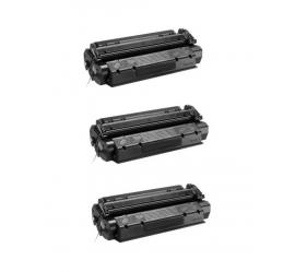 PACK X 3 HP C7115X/Q2613X/Q2624X NEGRO CARTUCHOS DE TONER COMPATIBLES (ALTA CAPACIDAD) Nº15X/13X/24X