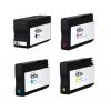 PACK X 4 HP 950XL/951XL CMYK CARTUCHOS DE TINTA COMPATIBLES (CN045AE/CN049AE), (CN046AE), (CN047AE) y (CN048AE)