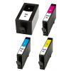 PACK X 4 HP 934XL/935XL CMYK CARTUCHOS DE TINTA COMPATIBLES